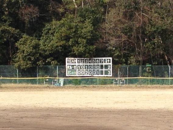 マイナーチーム 公式戦初勝利!