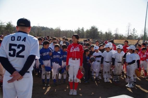 【野球教室にご参加いただいた皆様へ】